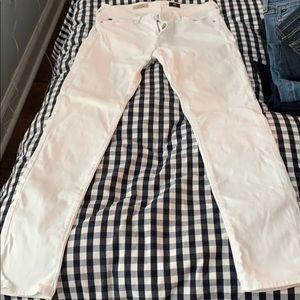 AG Prima White Jeans
